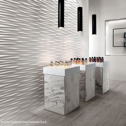 Revêtements muraux - 3D WALL DESIGN | Multi-faceted Reliefs - ATLAS CONCORDE