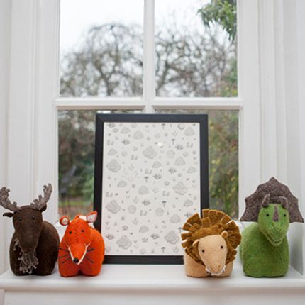 Children's bedrooms - Animal Bookends and Hooks - FIONA WALKER ENGLAND