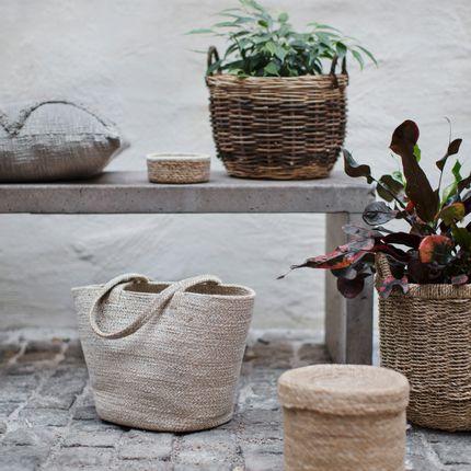 Boite de rangement - Waterhyacinth and seagrass baskets - DIXIE