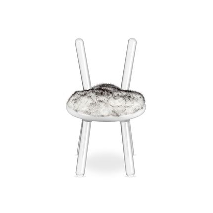 Chaises - Illusion White Bear Chair - CIRCU