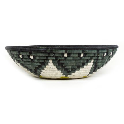 Decorative objects - Greenery / Grey Green Rwandan Basket - ALL ACROSS AFRICA