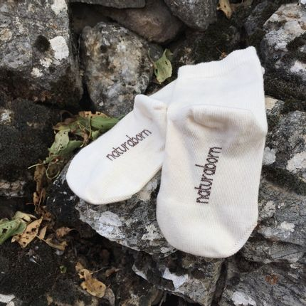 Tissus - Organic Cotton Baby Socks - NATURABORN