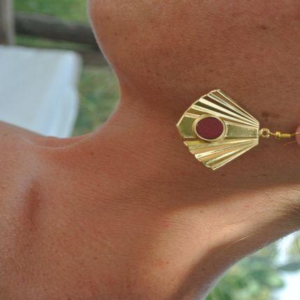 Bijoux - Boucles d'oreilles RITA - LITTLE MADAME