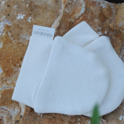 Homewear - Organic Cotton  Baby Gloves - naturaborn