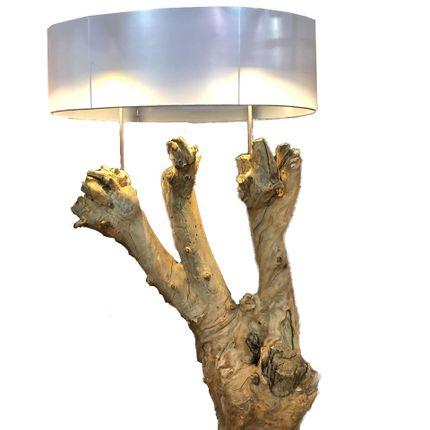 Floor lamps - ROOT & WOOD FLOOD LUMINAIRES - ATMOSPHÈRE D'ARGANERAIE
