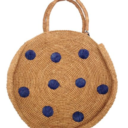 Shopping basket - coccinelle  panier rond - NORO