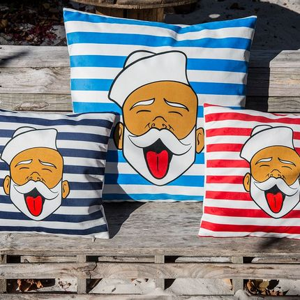 Cushions  - Pillow SAILO'S FACE by RAPHAEL FEDERICI - ARTPILO