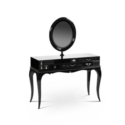 Console tables - Melrose Dressing Table - MAISON VALENTINA