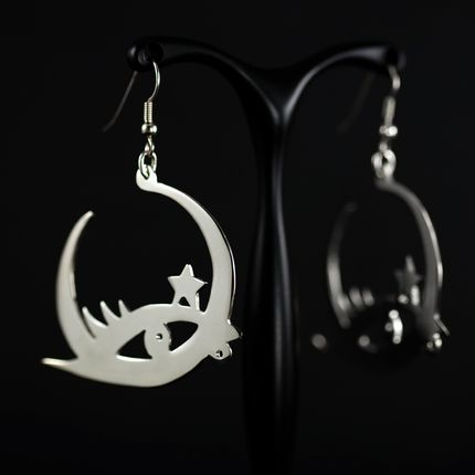 Jewelry - CELESTIA Luna Earrings - KAI Design Studio