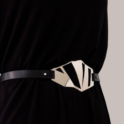Leather goods - ELEMENTA Ingrid Belt - KAI Design Studio