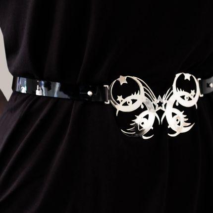 Leather goods - CELESTIA Stella Belt - KAI Design Studio