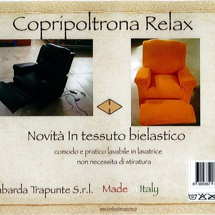 Homewear - SOFA COVER RELAX, AUTOMATIC SOFA - LOMBARDA TRAPUNTE S.R.L.