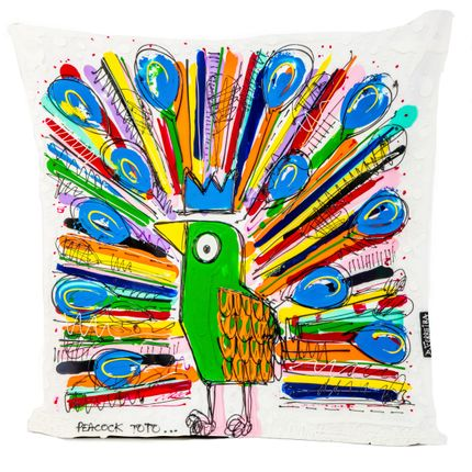 Coussins - Coussin PEACOCK TOTO by David FERREIRA - ARTPILO