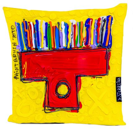 Coussins - Coussin PAINT BRUSH TOTO by David FERREIRA - ARTPILO