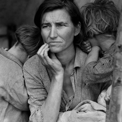 Art photos - Migrant Mother - GALERIE PRINTS