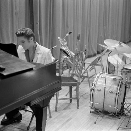 Photos d'art - Elvis At The Piano - GALERIE PRINTS