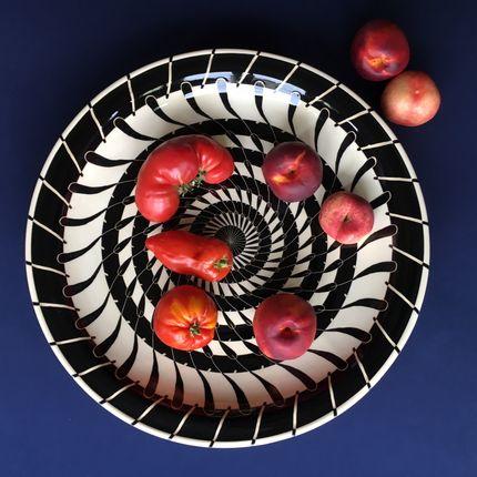 Platter, bowls - HB-Ritz Plates - Hedwig Bollhagen