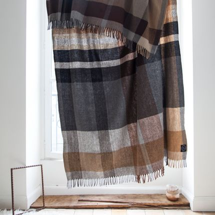 Plaids - Recycled Wool - KHADI AND CO.