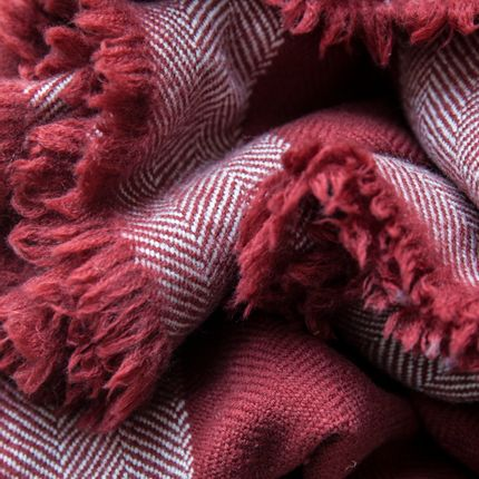 Throw blankets - Herringbone - KHADI AND CO.