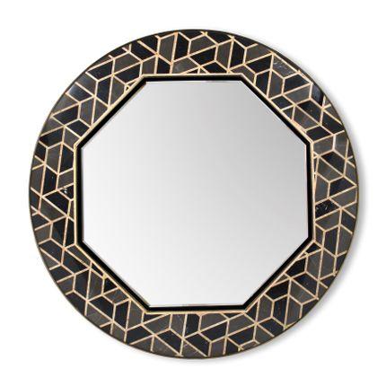 Mirrors - Tortoise Mirror - MAISON VALENTINA