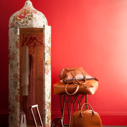 Wardrobe - TENTED CUPBOARD - CLOCK HOUSE FURNITURE