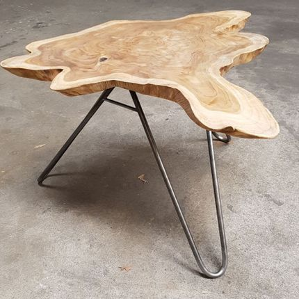 Tables basses - table basse bois et racine - WILD-HERITAGE.COM