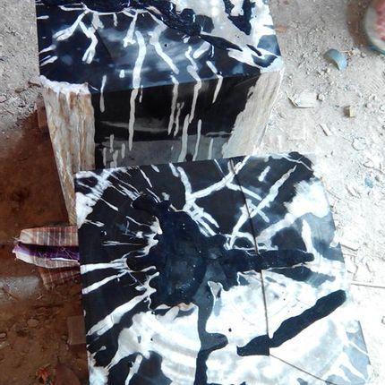 Stools - Petrified wood stool - WILD-HERITAGE.COM