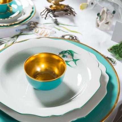 Formal plates - Handpainted porcelain - AUGARTEN 1718 PORZELLAN MANUFAKTUR