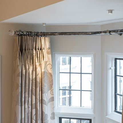 Curtains / window coverings - Classic Antique Nickel Curtain Pole Finish - Tillys