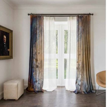 Rideaux / voilages - Polonais de rideau en bronze classique - TILLYS