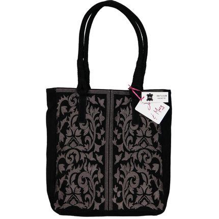 Bags / totes - TOTE BAG EN CUIR BRODE - JO & MARG