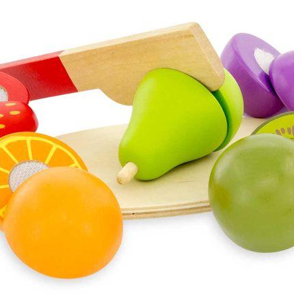 Loisirs créatifs - A DECOUPER : LES FRUITS - ULYSSE COULEURS D'ENFANCE