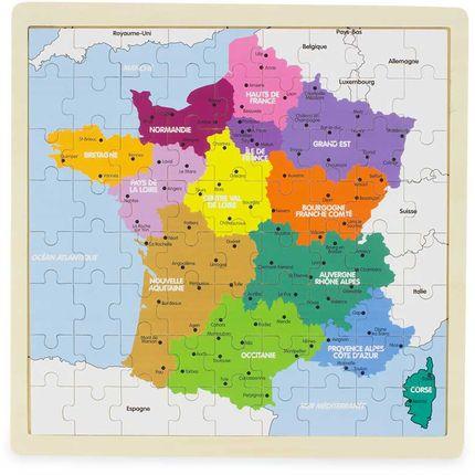 Games - PUZZLE : FRANCE - ULYSSE COULEURS D'ENFANCE