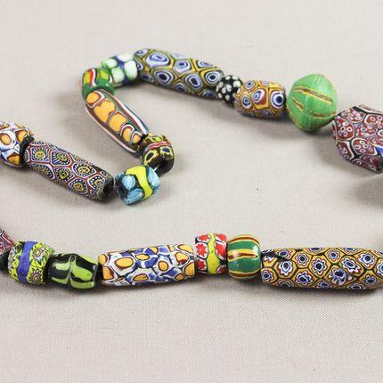 Jewelry - Antique and contemporary beads - FARAFINA TIGNE