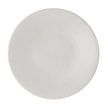 Assiettes au quotidien - ASSIETTE PLATE 27 CM VESUVIO BLANC - TABLE PASSION - BASTIDE
