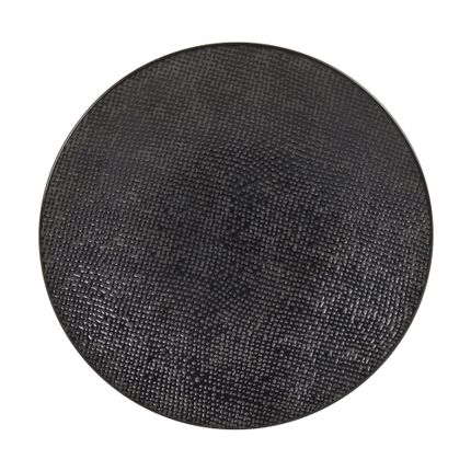 Everyday plates - ASSIETTE DESSERT 20.5 CM VESUVIO NOIR - TABLE PASSION - BASTIDE