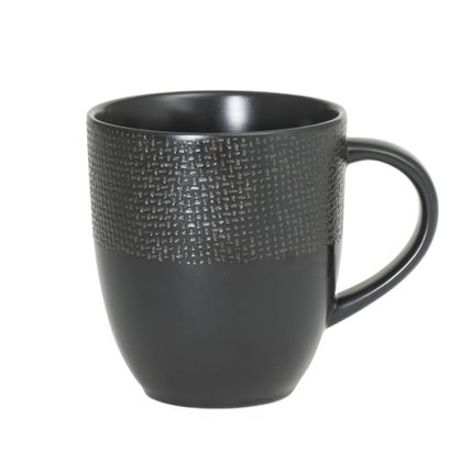 Tasses et mugs - MUG 30 CL VESUVIO NOIR - TABLE PASSION - BASTIDE