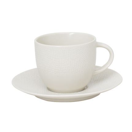Tasses et mugs - P/TASSE THE 22 CL VESUVIO BLANC - TABLE PASSION - BASTIDE
