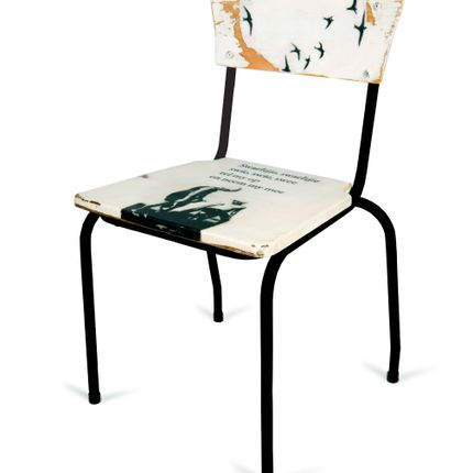 Chairs - Recycle wooden chair - DANYÉ