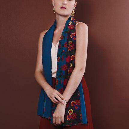 Foulards / écharpes - Soie & Cachemire  | Pashmina Renata  - FLORENZ
