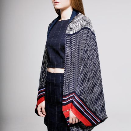 Prêt à porter - Kimono Foulard Soie · Jackie - FLORENZ