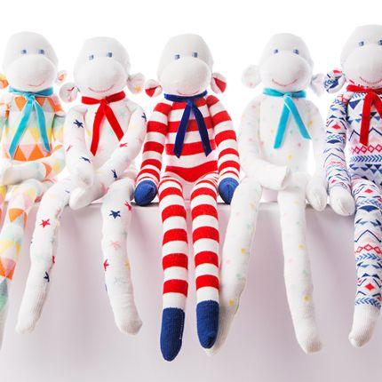 Soft toy - Monsieur Marcel - MONSIEUR CHAUSSETTE