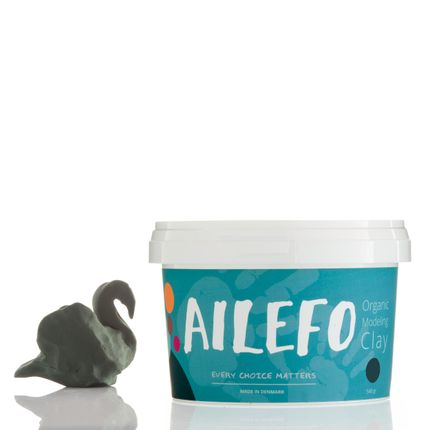 Toys - Ailefo Organic Modeling Clay, green big tub - AILEFO