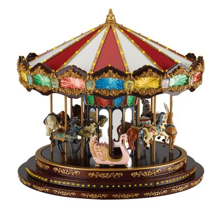 Decorative objects - Marquee Deluxe Carousel - LE MONDE DE LA BOÎTE À MUSIQUE