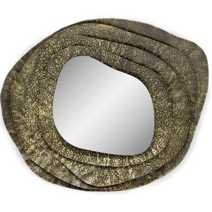 Miroirs - KUMI Petit miroir mural rond - BRABBU DESIGN FORCES