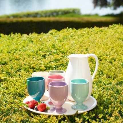 Ceramic - HB Summer Set for drinks smoothies and ice cream - Hedwig Bollhagen