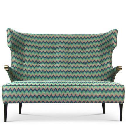 sofas - SIKA RARE II 2 SEAT SOFA - BRABBU DESIGN FORCES