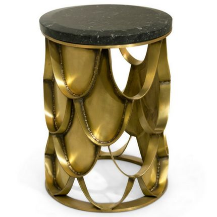 Tables - KOI Side Table - BRABBU DESIGN FORCES