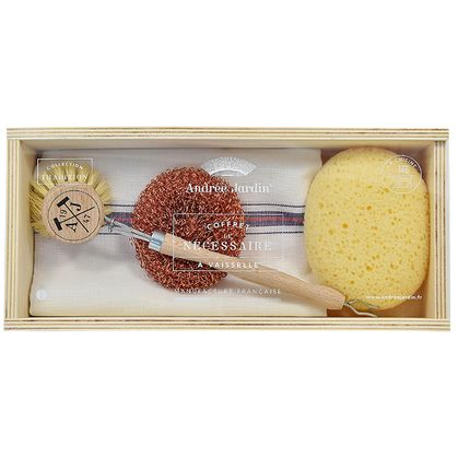 """Brushes - Dishes Kit """"Le Nécessaire"""" - ANDREE JARDIN"""
