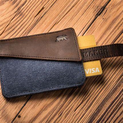 Leather goods - Wallet HANDY - ALASKAN MAKER